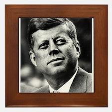 Cute Kennedy Framed Tile