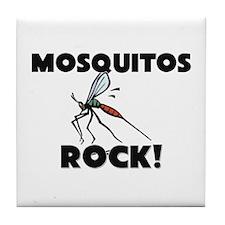 Mosquitos Rock! Tile Coaster
