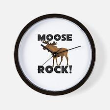 Moose Rock! Wall Clock