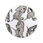 "Dalmation Puppies 3.5"" Button"
