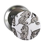 """Dalmation Puppies 2.25"""" Button (100 pack)"""