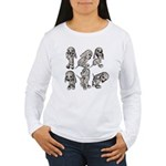 Dalmation Puppies Women's Long Sleeve T-Shirt