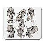 Dalmation Puppies Mousepad
