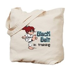 Black Belt in Training Tote Bag