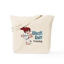 Black Belt in Training Tote Bag