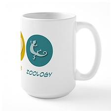 Peace Love Zoology Mug