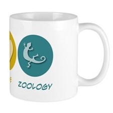 Peace Love Zoology Mug
