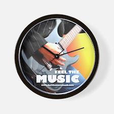 """Feel the Music"" Wall Clock"