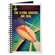 """Pulp Journal-""""The Flying Saucers Are Real&quo"""
