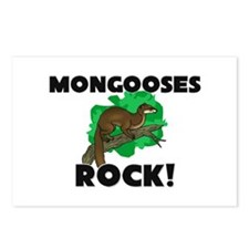 Mongooses Rock! Postcards (Package of 8)