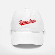 Retro Brandon (Red) Baseball Baseball Cap