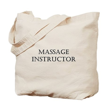 Massage Instructor Tote Bag