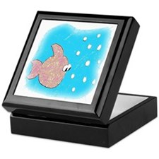 Katey the Fish Keepsake Box