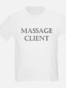 Massage Client T-Shirt
