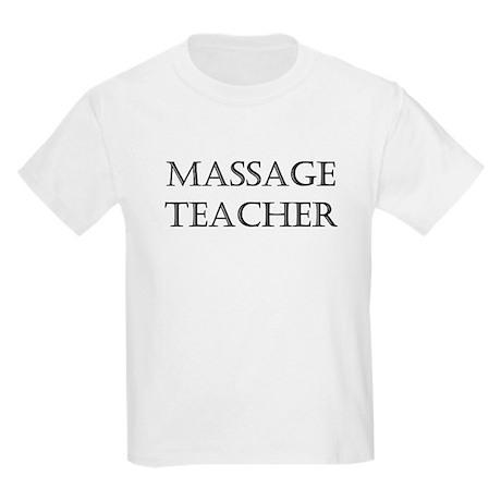 Massage Teacher Kids Light T-Shirt