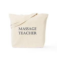 Massage Teacher Tote Bag