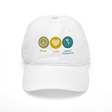 Peace Love World Domination Baseball Cap