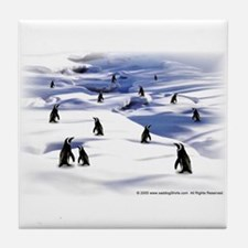 Penguin Scene Tile Coaster