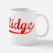Vintage Oak Ridge (Red) Mug