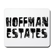 Hoffman Esta.. Faded (Black) Mousepad