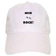 Mice Rock! Baseball Cap