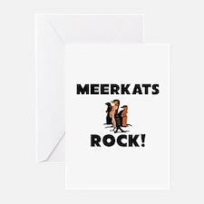 Meerkats Rock! Greeting Cards (Pk of 10)