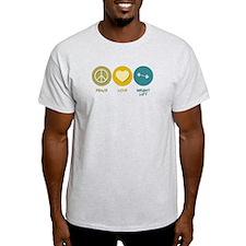 Peace Love Weight Lift T-Shirt