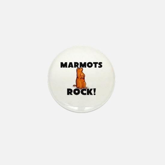 Marmots Rock! Mini Button