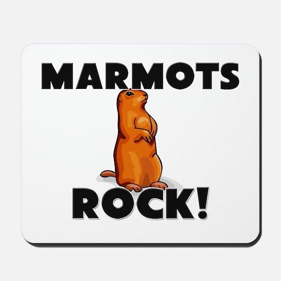 Marmots Rock! Mousepad
