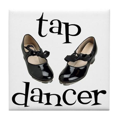 Tap Dancer Tile Coaster