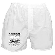 Cool Aldous huxley quote Boxer Shorts