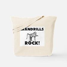 Mandrills Rock! Tote Bag