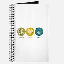 Peace Love Wash Journal