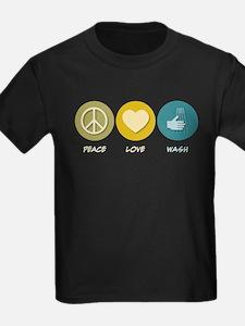 Peace Love Wash T