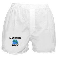 Manatees Rock! Boxer Shorts