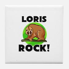 Loris Rock! Tile Coaster