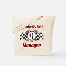 Racing Manager Tote Bag