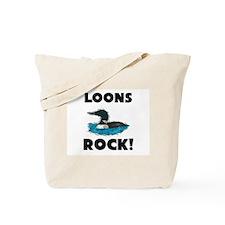 Loons Rock! Tote Bag