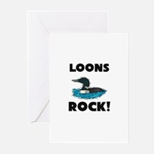 Loons Rock! Greeting Cards (Pk of 10)
