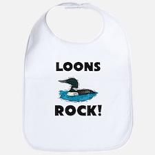 Loons Rock! Bib