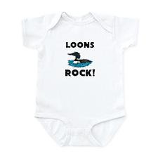 Loons Rock! Infant Bodysuit
