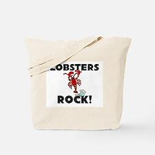Lobsters Rock! Tote Bag