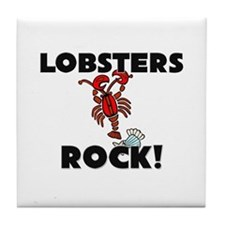 Lobsters Rock! Tile Coaster