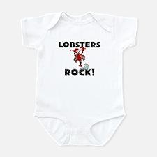 Lobsters Rock! Infant Bodysuit