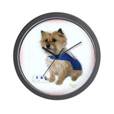 Sailor Cairn Terrier Wall Clock