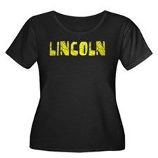 Lincoln Faded (Gold) T