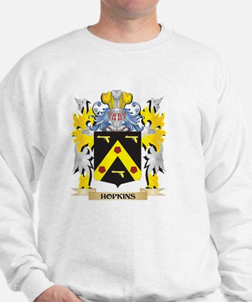 Hopkins Coat of Arms - Family Crest Sweatshirt