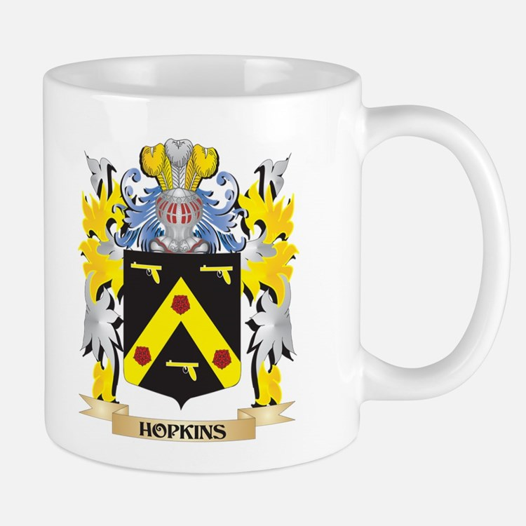Hopkins Coat of Arms - Family Crest Mugs