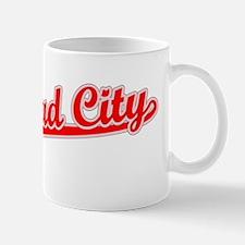 Retro Bullhead City (Red) Mug