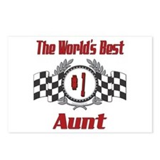 Racing Aunt Postcards (Package of 8)